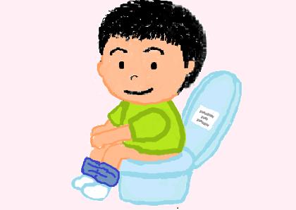 トイレと子供