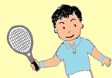 スポッチャでテニス