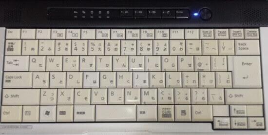 ノートPCキーボード