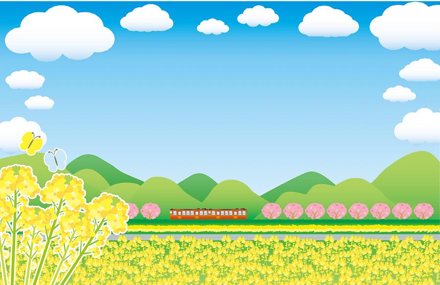 田舎と電車-1